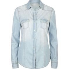 Western shirts chambray and westerns on pinterest for Cuisine you chambray