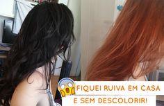 RUIVO EM CASA SEM DESCOLORIR - Letícia Leão