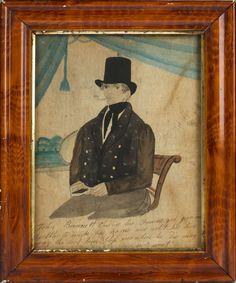 Art - Primitive - Portrait of John Bennett