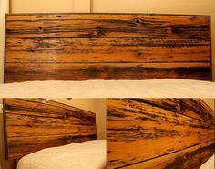Hemlock Headboard- Rescued Workbench