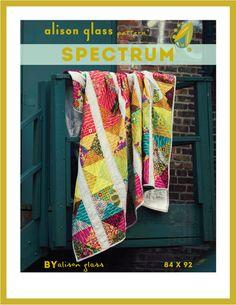 Westwood Acres Fabric — Spectrum Quilt Pattern