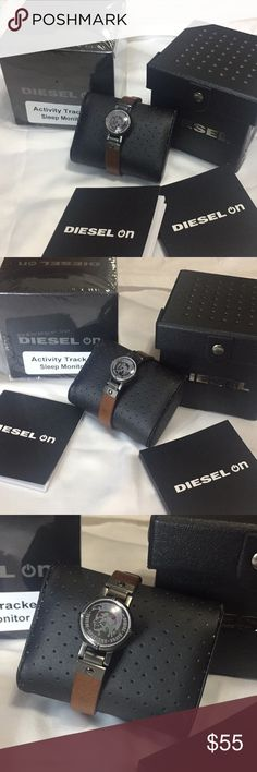 Men's DIESEL activity tracker and sleep monitor! New with box men's Diesel activity tracker and sleep monitor! Please see pictures for details Diesel Accessories Watches