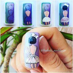 Super nails art paso a paso disney Ideas Happy Nails, Fun Nails, Pretty Nails, Nail Art Inspiration, Kawaii Nail Art, Nail Drawing, Painted Nail Art, Girls Nails, Super Nails