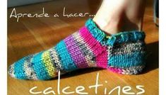 Socks, how to knit socks step by step Knitting Socks, Knit Socks, Crochet Ideas, Margarita, Fashion, Tricot, Craft, Slippers Crochet, Knitted Slippers