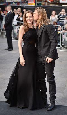 EstiloDF » Angelina Jolie desmiente que se vaya a divorciar de Brad Pitt