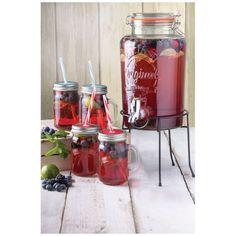 Kilner Drinks Dispenser Gift Set: Image 11