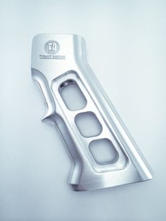 You're not bulletproof..., Tyrant Design Titan Grip A skeletonized AR-15 grip...
