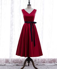 Burgundy Evening Dress, Burgundy Dress, Evening Dresses, Prom Party Dresses, Homecoming Dresses, Bridesmaid Dresses, Dress Party, Dress Silhouette, Outfits