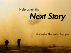 GlobalPost is raising funds for GlobalPost Senior Conflict Correspondent on Kickstarter! GlobalPost's award-winning reporters focus on telling the human stories behind violent conflicts. The Next, Journalism, Believe, World, Movie Posters, Image, Inspiration, Biblical Inspiration, Journaling