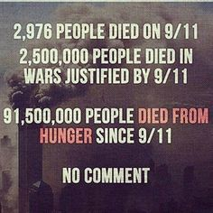 death from war and hunger