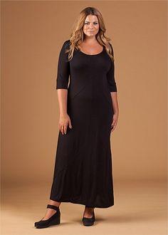 Virtu Monique Maxi Dress #plussize #fashion #curvy
