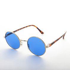 a18ea95d4a2 John Lennon Round Color Lens Vintage Sunglass NOS 1990s -DYLAN Cool  Sunglasses