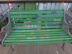 Outside deck bench! Outdoor Furniture, Outdoor Decor, Bench, Wood, Artwork, Design, Home Decor, Garden Furniture Outlet, Madeira