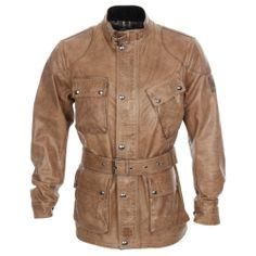 BELSTAFF Panther Jacket - Leather Birch #belstaff #mensdesignerleatherjackets
