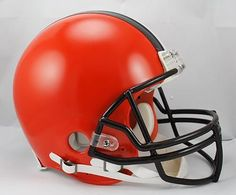 Cleveland Browns Helmet Riddell Authentic Full Size VSR4 Style 2015
