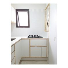 Minimalist, small apartment kitchen. Scandinavian style    lolli arquitetura       são paulo, brazil    Walnut Plywood, Small Apartment Kitchen, Small Apartments, Scandinavian Style, Brazil, Minimalist, Furniture, Home Decor, Arquitetura