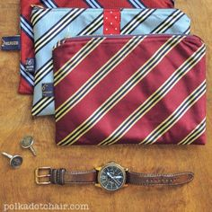 Remaking ideas using mens ties !   Clever !! Upcycled Craft Ideas - DIY Decorating - Good Housekeeping