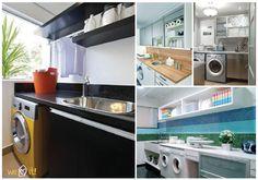 Inspiração lavanderia #lavanderia #laundryroom #decor #casadasamigas