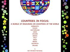 Countries in Focus: A Bundle of Webquest on Different Countries of the World Primary History, Teaching History, Teaching Resources, Different Countries, Countries Of The World, World Geography, Iceland, The Fosters, Activities