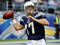 Philip Rivers for the San Diego Chargers