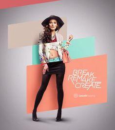 SonaeSierra Fashion Cluster on Behance