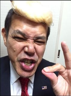 Japanese Comedian Transforms from Obama to Trump Overnight