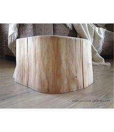 Baumstamm Hocker Beistelltisch Nachttisch von natuerlich-gebraucht auf DaWanda.com