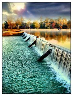 """To the Sea,"" Rhine River, Alsace, France.  Photo: Jean-Michel Priaux via Flickr."