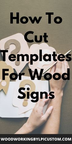 If you are new to wood crafts and woodworking projects you will want to create wood patterns and stencils.  How do you create stencil patterns or into drawing templates which you will use on your wood signs and DIY wood projects ideas? Check out these woodworking projects utilizing various router bits and wood router information. Here we provide information you can use for your wood cutout patterns. #woodworkingprojects #diywoodprojects #woodsigns #routerprojects #woodworkingbylpi… Router Projects, Diy Wood Projects, Diy Wood Signs, Painted Wood Signs, Woodworking Ideas To Sell, Woodworking Projects, Stencil Patterns, Wood Patterns, Wood Router