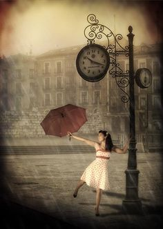 Dancing under the rain - Bailando bajo la lluvia