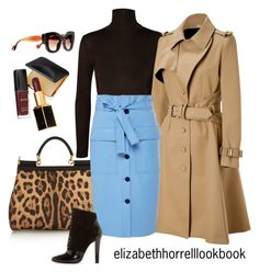 """LIZ"" by elizabethhorrell ❤ liked on Polyvore featuring Dolce&Gabbana, Bouchra Jarrar, Jonathan Saunders, 3.1 Phillip Lim, Tom Ford and Fendi"