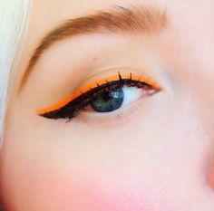 Black winged eyeliner