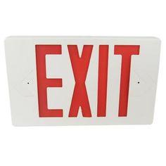 Exit Sign Hidden HD Camera