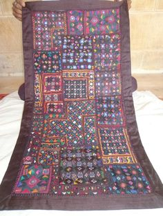 Handmade Wall Hanging,Patchwork Wall Decor,Hand Embroidery Tapestry,Home Decor #Handmade