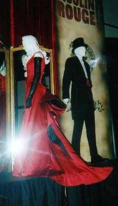 """Satine's Red Gown a.k.a. the """"Smoldering Temptress"""" Gown in Moulin Rouge -- The Costumer's Guide to Movie Costumes"""