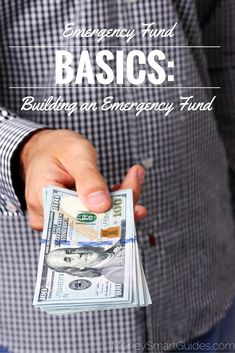 An emergency fund is the term given to your savings account that acts as a resource to provide you with income during emergencies. Over time, you are building an emergency fund to get it to the amount that you need to live off of should an emergency arise. - Money Smart Guides http://www.moneysmartguides.com/emergency-fund-basics