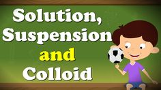 Solution, Suspension and Colloid. The size of particles in a solution is usually less than 1 nm. Size of particles in a suspension is usually larger than Stem Science, Science For Kids, 3 States Of Matter, Matter For Kids, Conservation Of Mass, Kid Experiments, Writer Workshop, Resume Template Free, Nanotechnology