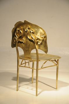 Ginkgo Bronze Chair One of my favorite chairs...just to look at.