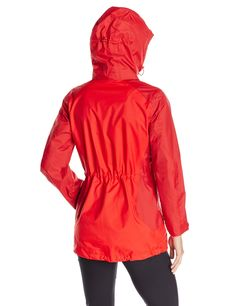 Jack Wolfskin Womens Amply Texapore Jacket Red Fire Large *** More info could be found at the image url. (This is an affiliate link) #womenscoatsjacketsvests