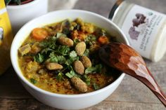 Hearty Vegetable Coconut Dhal Soup Recipe by Anna Speaks | Breakfast…