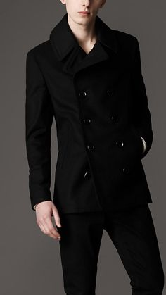 Oversize Martingale Wool Pea Coat | Burberry