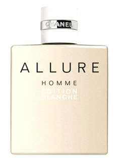 Allure Homme Edition Blanche Chanel Masculino Chanel Allure Homme, Smell Good, Bride Gifts, Cologne, Flask, Perfume Bottles, Men's, Lotions, Men