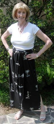 Skirt in a Jiffy - A Very Simple Sewing Pattern