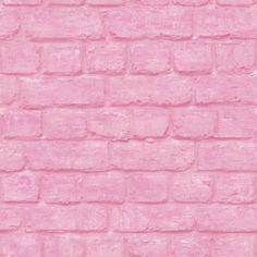 Portfolio Brick Wallpaper Pink Rasch 226805