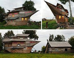 landed boat house.