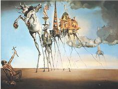 Surrealist, The Temptation of St. Antony, Salvatore Dali