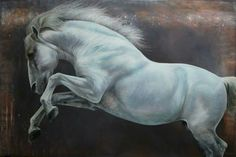 Rebuscado,  portrait II ©Carolle Beaudry //Canada All The Pretty Horses, Beautiful Horses, Beautiful Images, Equine Art, Horse Art, Garden Paths, Drawing Ideas, Art Work, Birds