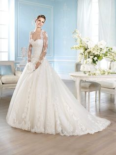San Patrick Haley San Patrick, Wedding Dresses, Fashion, Saint Patrick, Bridal Dresses, Moda, Bridal Gowns, Wedding Gowns, Weding Dresses