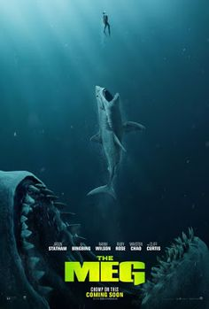 Trailers, TV spots, clip, featurettes, images and posters for the sci-fi horror film THE MEG starring Jason Statham and Li Bingbing. Meg Movie, Movie Tv, New Movies 2018, Upcoming Movies 2018, Peliculas Online Hd, Film Vf, Avengers Film, The Image Movie, Watch Free Movies Online
