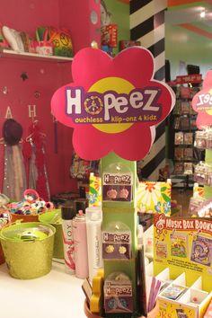 Hopeez™ Klip-onz 4 Kidz is at Sharkey's Cuts for Kids! 1359 2nd Avenue at 72nd St. NYC http://www.sharkeyscutsforkids.com